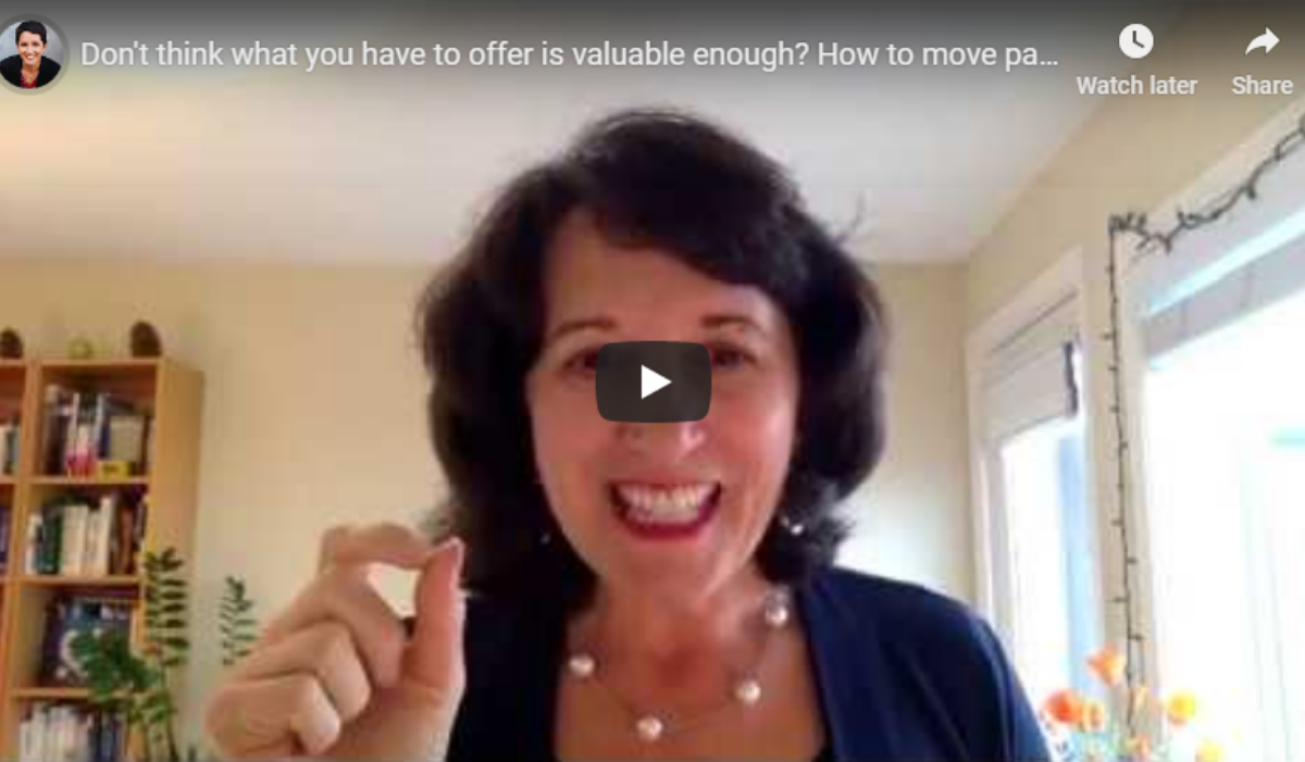 Don't think what you have to offer is valuable enough? Watch THIS. (Video)