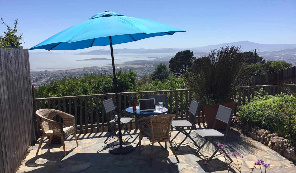 LIVE from my outdoor office… This is what I'm up to (Pics)